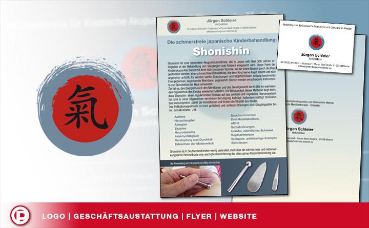 Logo | Website | Flyer | Heilpraxis