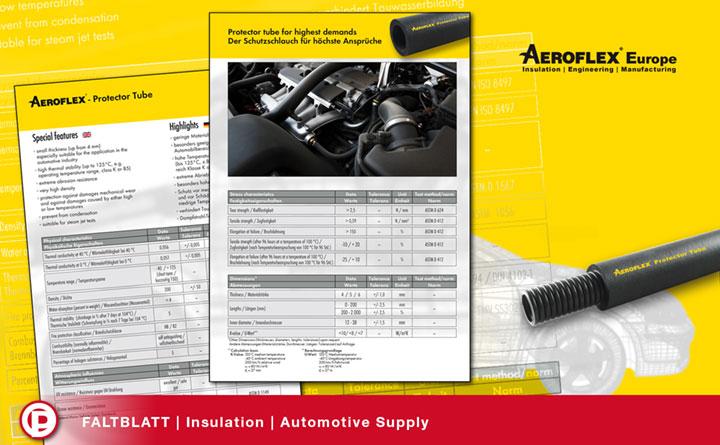 Faltblatt Automotive Insulation